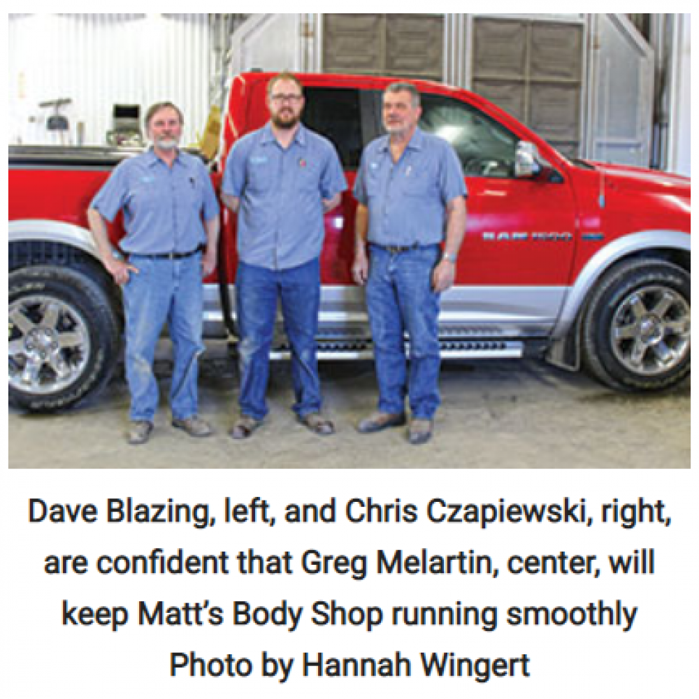 New owner, same great service at Matt's Body Shop