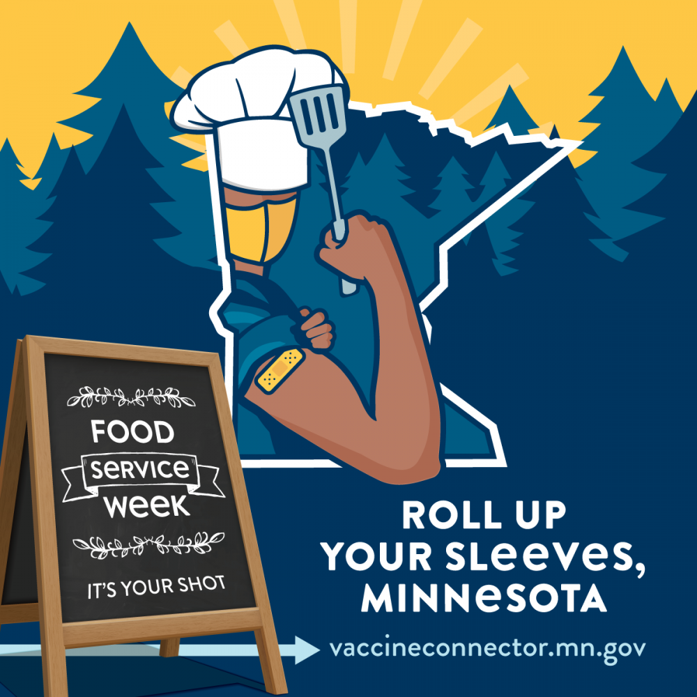 Minnesota Department of Employment and Economic Development (MN-DEED) Announce Campaign to Vaccinate Food Service Employees