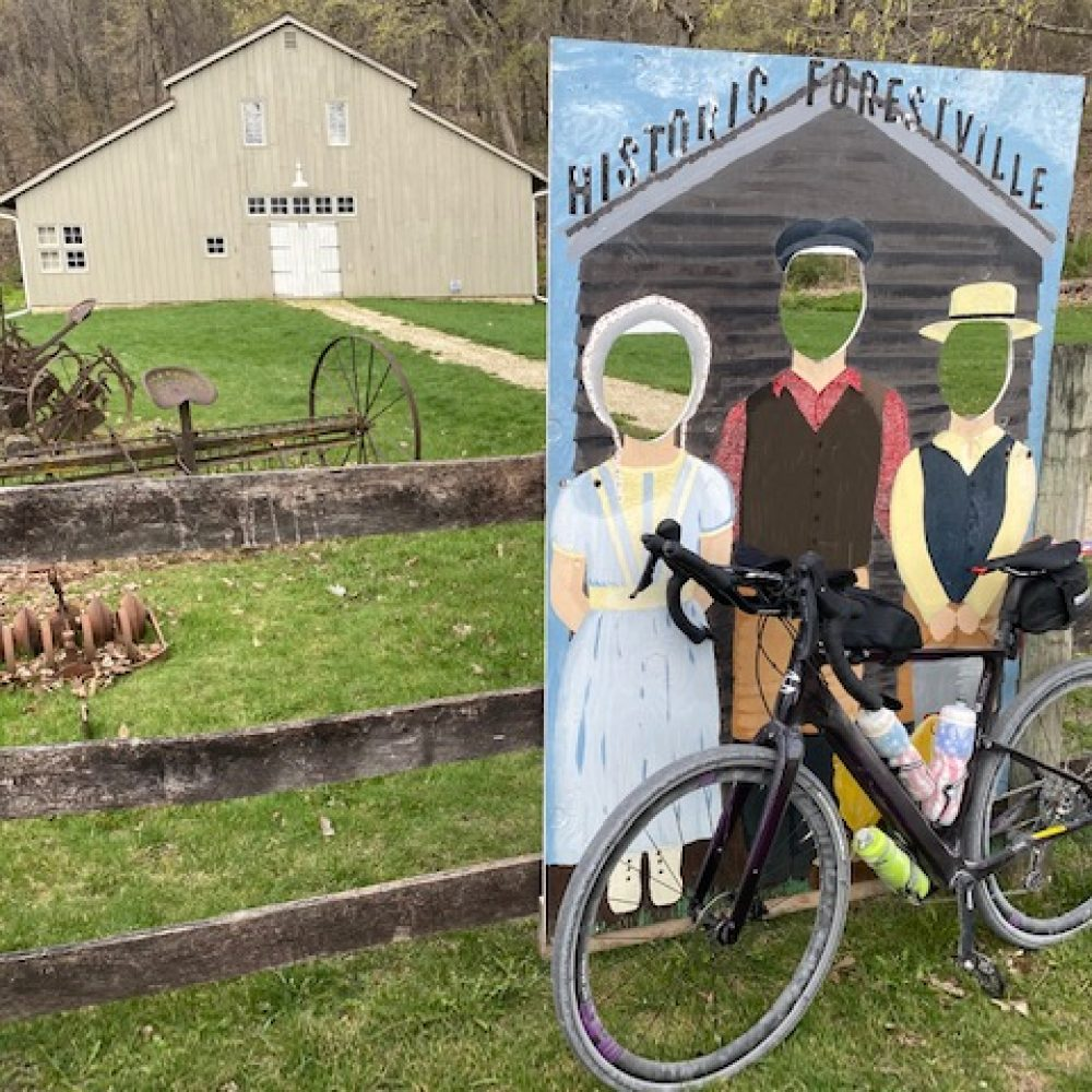 Spring Valley 100 Gravel Road Race through Forestville State Park