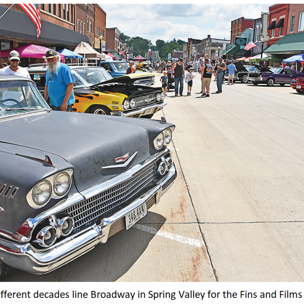 Annual Fins and Films Festival Returns to Spring Valley, July 30-31st.