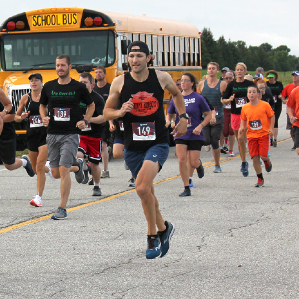 Young Runners Excel at 2021 Ag Days 6k