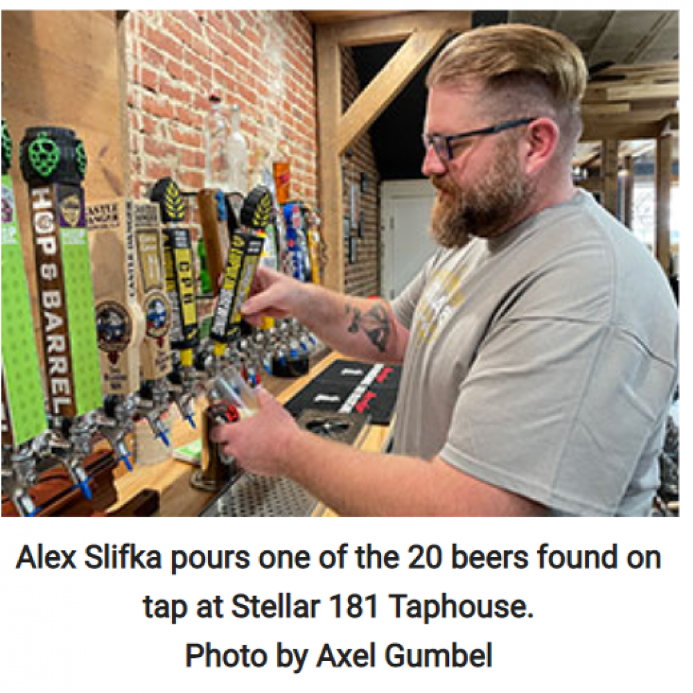 Stellar 181 Taphouse a Confluence of Passions in Spring Valley